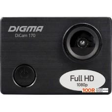 Action-камера Digma DiCam 170 (черный)