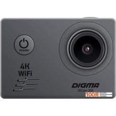 Action-камера Digma DiCam 300 (серый)