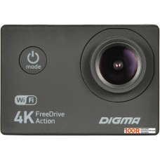 Action-камера Digma FreeDrive Action 4K WIFI