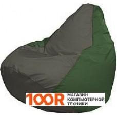 Бескаркасная мебель Flagman Груша Медиум Г1.1-361 (темно-серый/зеленый)