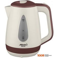 Чайник Atlanta ATH-2376 (коричневый)
