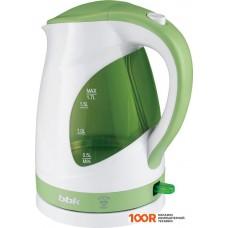 Чайник BBK EK1700P Белый/зеленый