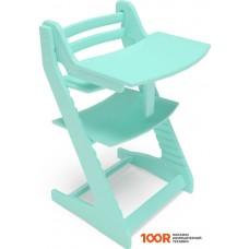 Детский стол Millwood Вырастайка со съемным столиком (бирюза)