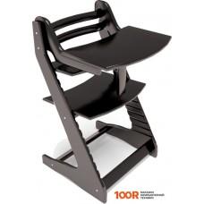 Детский стол Millwood Вырастайка со съемным столиком (черный)