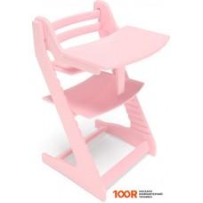 Детский стол Millwood Вырастайка со съемным столиком (фламинго)