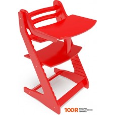 Детский стол Millwood Вырастайка со съемным столиком (красный)