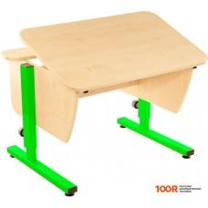 Детский стол Pondi Школьник (клен/зеленый)