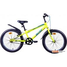 Детский велосипед AIST Pirate 1.0 20 (желтый, 2020)