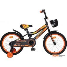 Детский велосипед Favorit Biker 18 (черный/оранжевый, 2019)