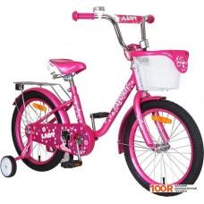 Детский велосипед Favorit Lady 18 (розовый, 2019)