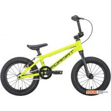 Детский велосипед Format Kids 14 (желтый, 2020)