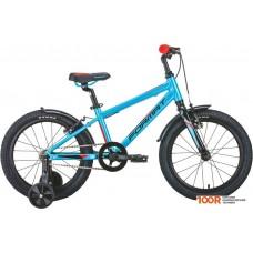 Детский велосипед Format Kids 18 (голубой, 2020)