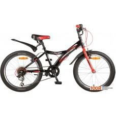 Детский велосипед Novatrack Racer 20 (черный, 2017)