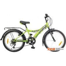 Детский велосипед Novatrack Racer 20 (зеленый/черный, 2017) 20SH12V.RACER.GN7