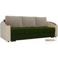 Диван Лига диванов Монако slide 102004 (зеленый/бежевый)