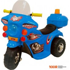 Детский электромобиль RiverToys HL-218 (синий)