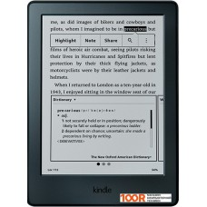 Электронная книга Amazon Kindle (8-е поколение) (черный)