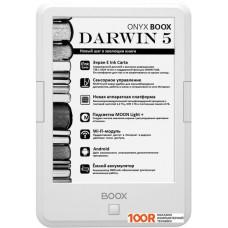 Электронная книга Onyx BOOX Darwin 5 (белый)