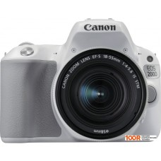 Фотоаппарат Canon EOS 200D Kit 18-55 IS STM (белый)