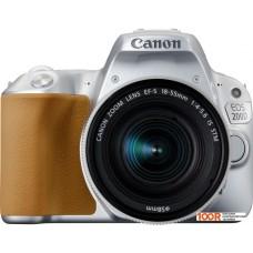 Фотоаппарат Canon EOS 200D Kit 18-55 IS STM (серебристый)