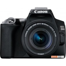 Фотоаппарат Canon EOS 250D Kit 18-55 IS STM (черный)