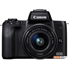 Фотоаппарат Canon EOS M50 Kit 15-45mm 2680C012 (черный)