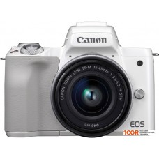 Фотоаппарат Canon EOS M50 Kit 15-45mm (белый)