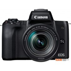Фотоаппарат Canon EOS M50 Kit 18-150mm (черный)