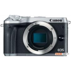 Фотоаппарат Canon EOS M6 Body (серебристый)