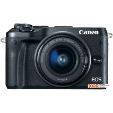 Фотоаппарат Canon EOS M6 Kit 15-45mm (черный)