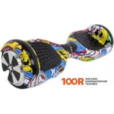 Гироцикл Hoverbot A-3 Light Led Yellow Multicolor
