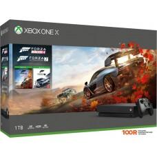 Игровыя консоль Microsoft Xbox One X 1TB + Forza Horizon 4 + Forza Motorsport 7