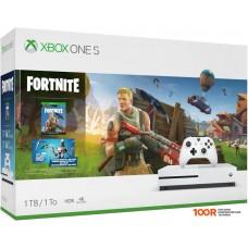 Игровыя консоль Microsoft Xbox One S 1TB + Fortnite