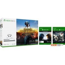 Игровыя консоль Microsoft Xbox One S 1TB + PUBG + Halo 5 + Gears of War 4