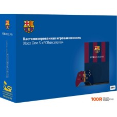 Игровыя консоль Microsoft Xbox One S 1TB FC Barcelona