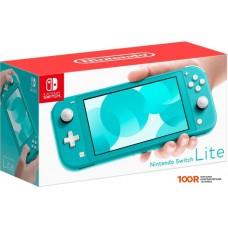 Игровыя консоль Nintendo Switch Lite (бирюзовый)