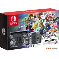 Игровыя консоль Nintendo Switch Super Smash Bros. Ultimate Edition (серый)