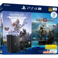 Игровыя консоль Sony PlayStation 4 Pro 1TB Horizon Zero Dawn + God Of War