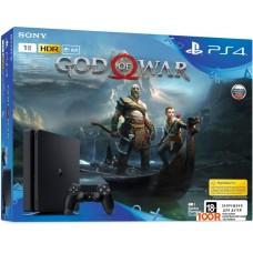 Игровыя консоль Sony PlayStation 4 Slim 1TB God of War (черный)