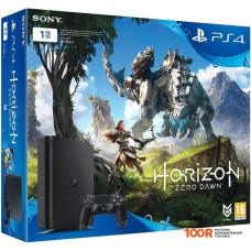 Игровыя консоль Sony PlayStation 4 Slim Horizon Zero Dawn 1TB (черный)