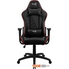 Игровое кресло AeroCool AC110 AIR (черный/красный)