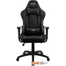 Игровое кресло AeroCool AC110 AIR (черный/синий)