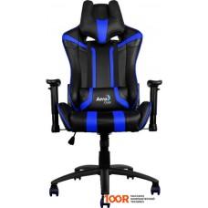 Игровое кресло AeroCool AC120 (черный/синий)