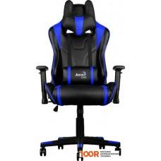 Игровое кресло AeroCool AC220 (черный/синий)