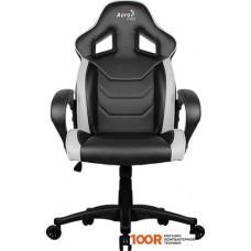 Игровое кресло AeroCool AC60C AIR (черный/белый)