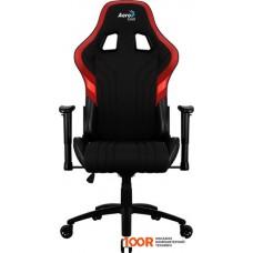 Игровое кресло AeroCool AERO 1 Alpha (черный/красный)
