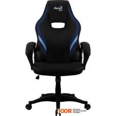 Игровое кресло AeroCool AERO 2 Alpha (черный/синий)