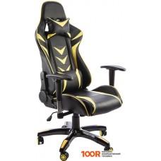 Игровое кресло Calviano Mustang (черный/желтый)