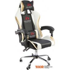 Игровое кресло Calviano Ultimato (черный/белый/золотистый)