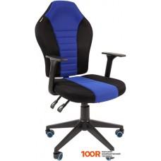 Игровое кресло CHAIRMAN Game 8 (черный/синий)